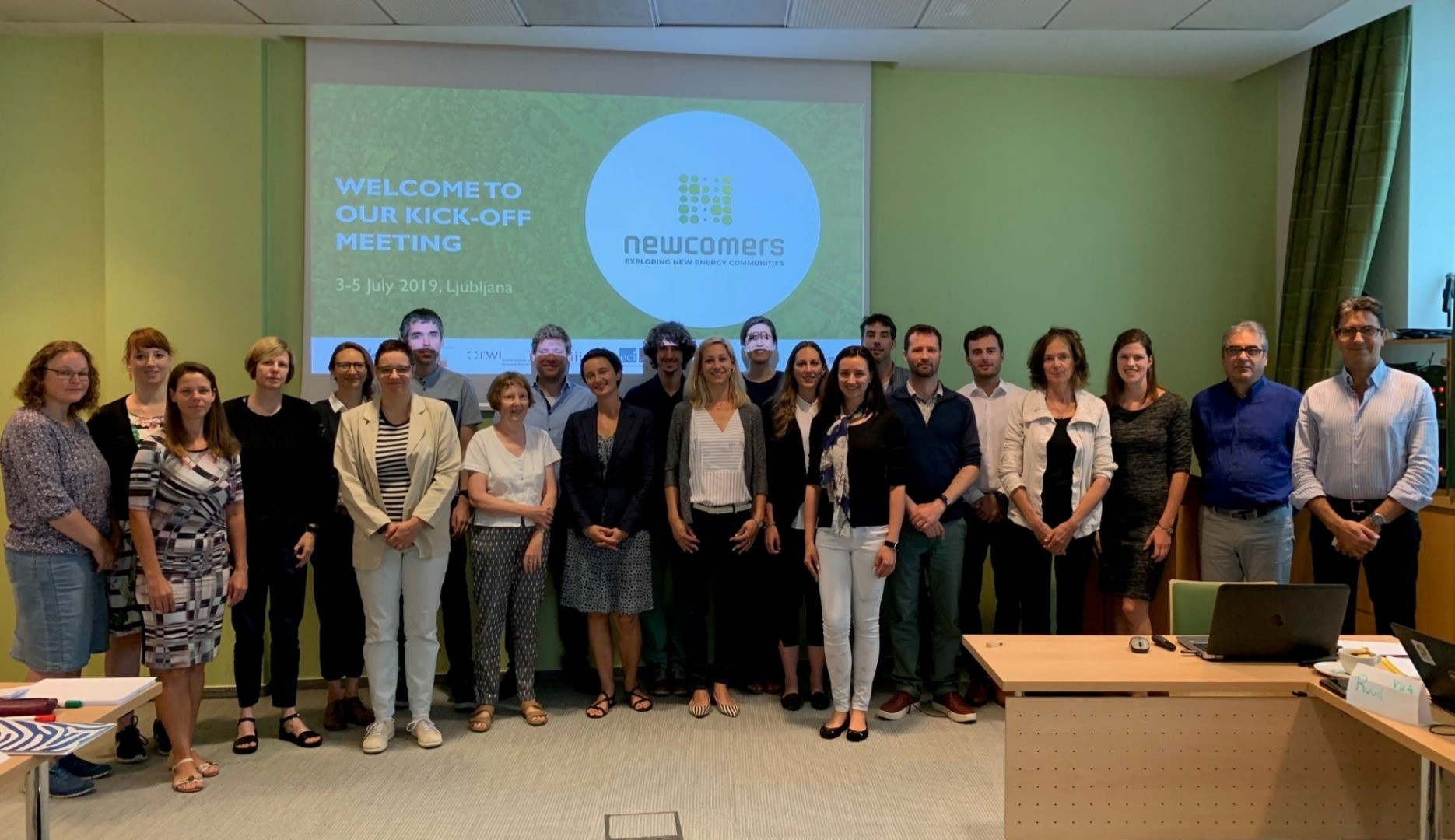 NEWCOMERS kick-off meeting in Ljubljana